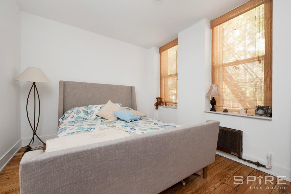 228 East 22nd Street, master bedroom, rental duplex, gramercy