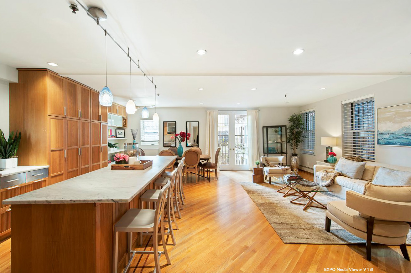 A Massive Living Room for This Two-Bedroom Soho Co-op, Asking $2 ...