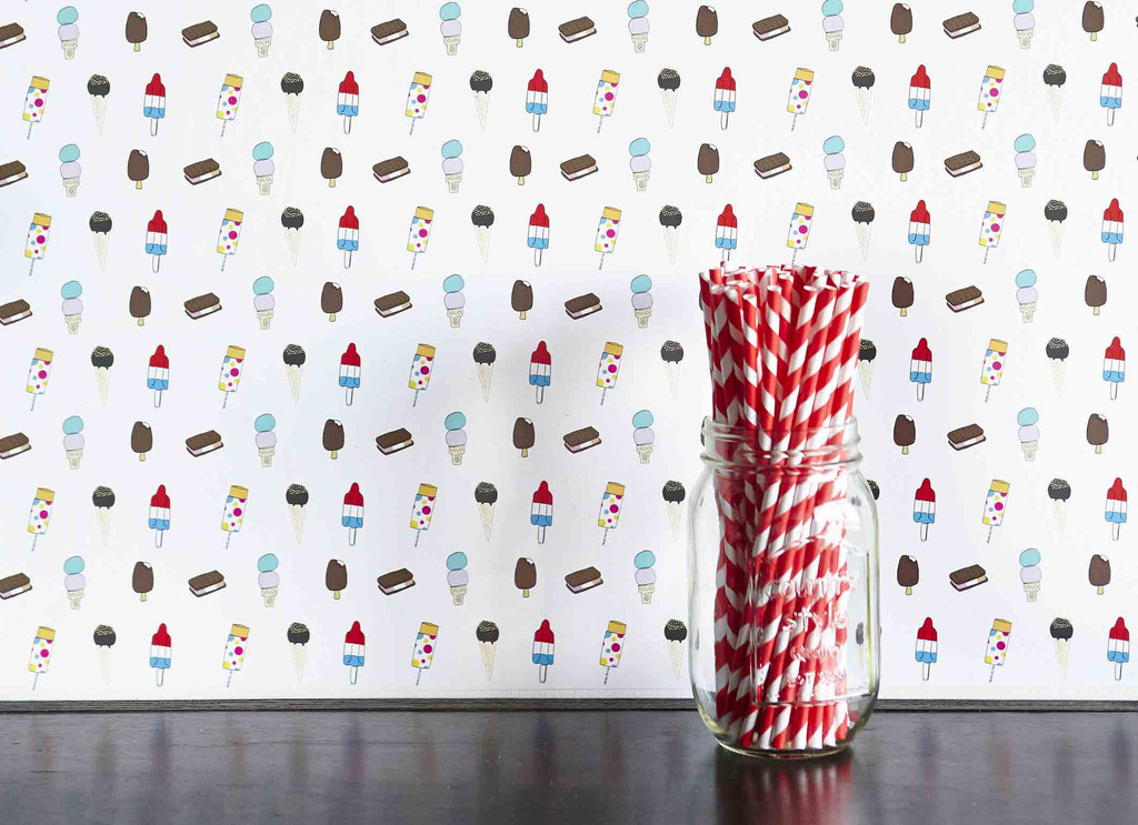 Chasing Paper popsicle wallpaper