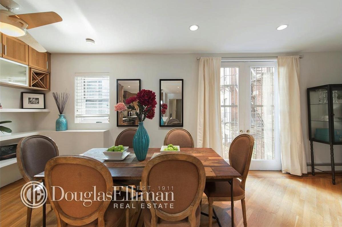 37B Crosby Street, dining room, loft, co-op