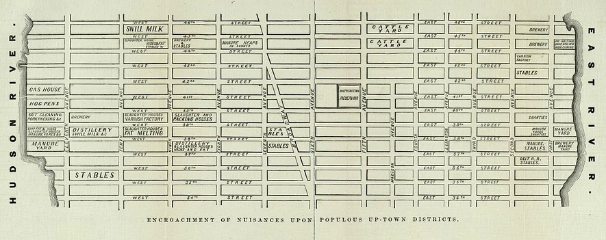 NYC sanitation map-19 century-1