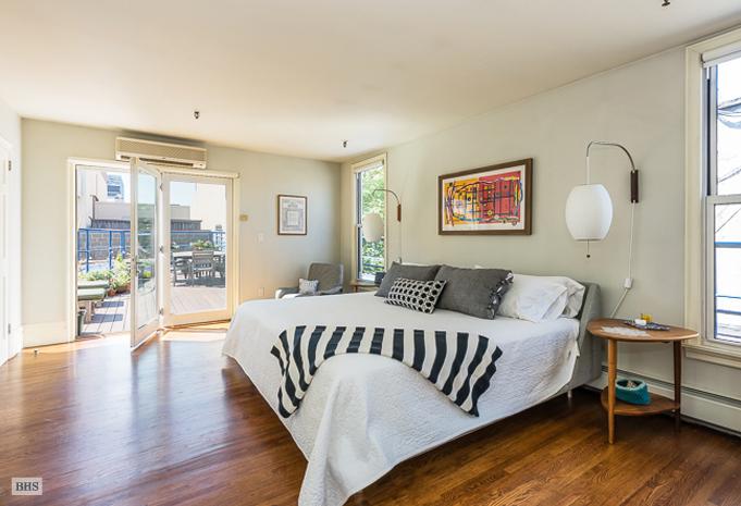 120 boerum place, skytrack, master bedroom, patio