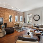 living room, rental, 14 west 95th street, brownstone