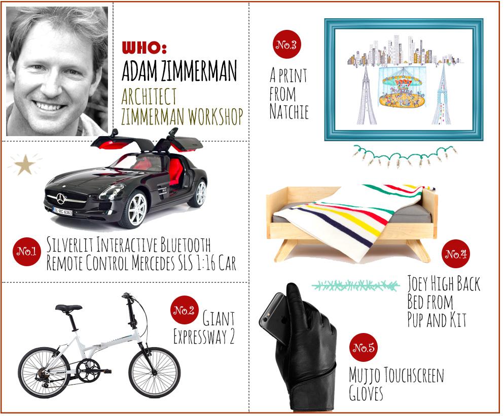 designer holiday gift-guide 6sqft adam zimmerman