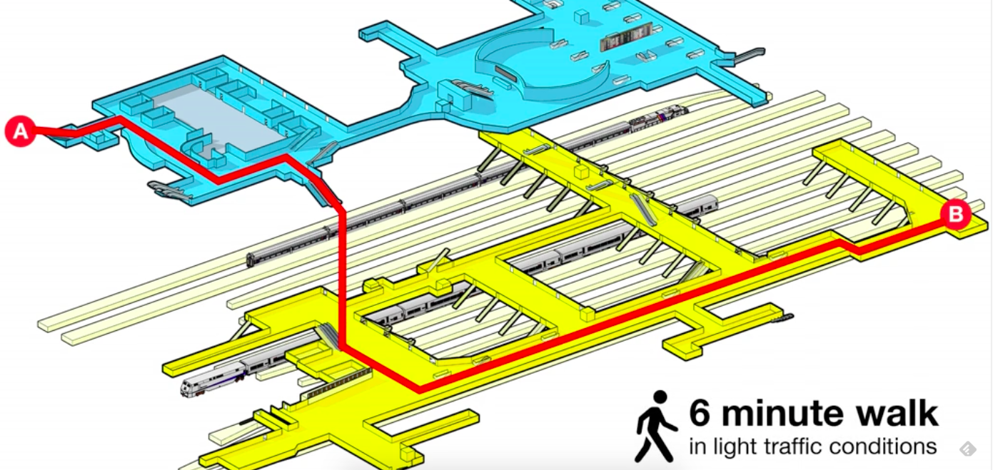 The Penn Station Atlas Wants To Make The Awful Space Less Confusing