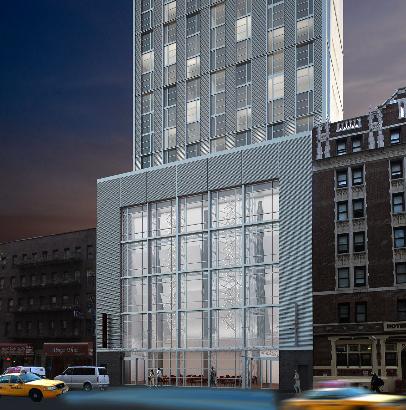 Revealed: Crowne Plaza Hotel Rises South of Times Square