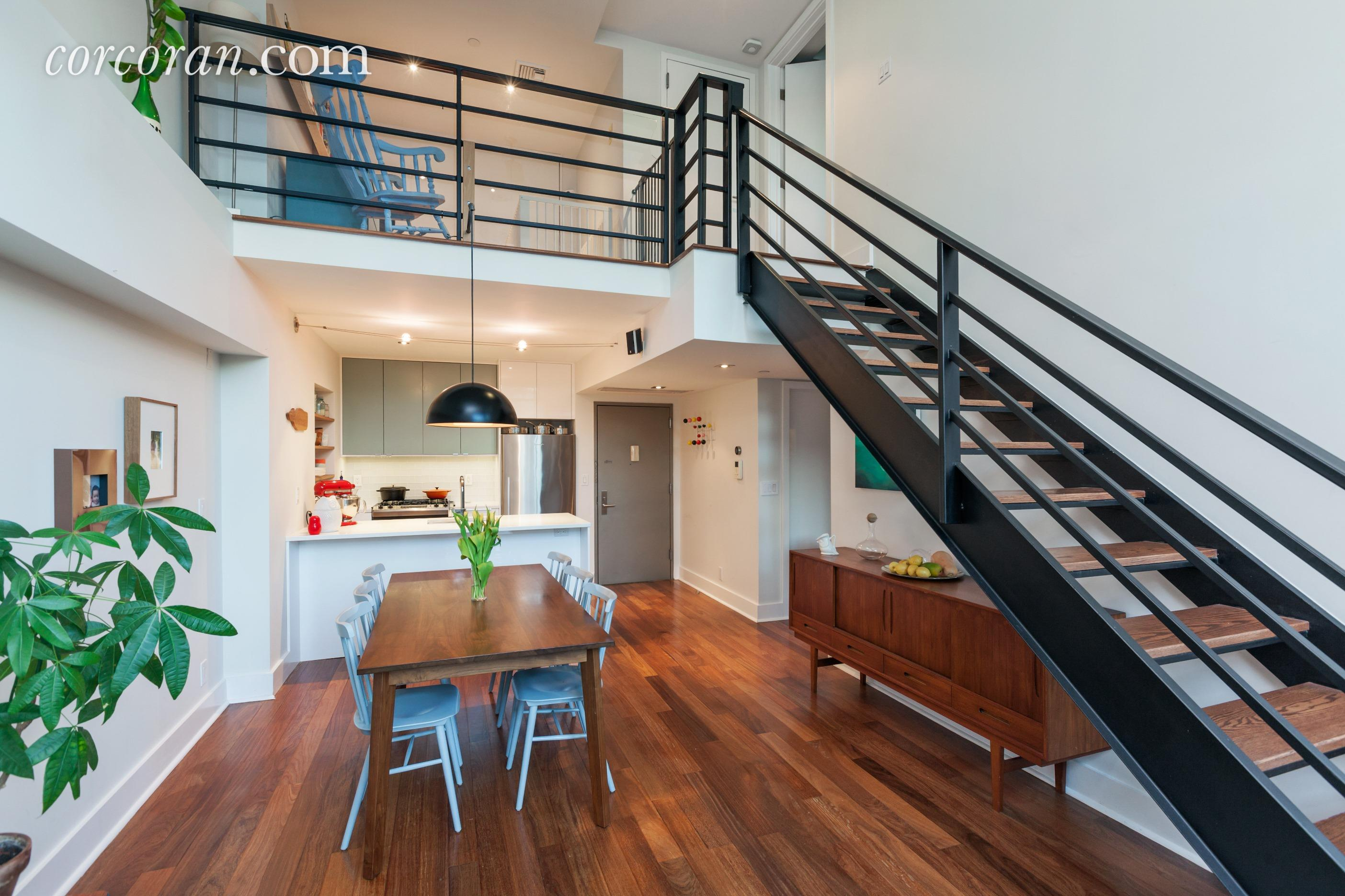 149 Huron Street, living room, duplex, condo, greenpoint