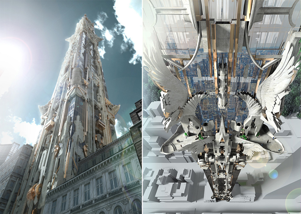 Could This Otherworldly 102-Story Tower Covered in Ornaments Be Coming to 57th Street?