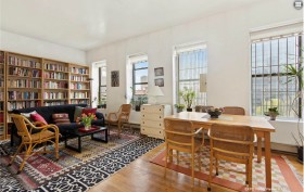 241 Eldridge Street, condo, lower east side, living room
