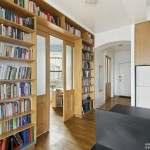 241 Eldridge Street, bookshelves, condo