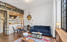 405 West 21st street, chelsea, studio, rental. living room