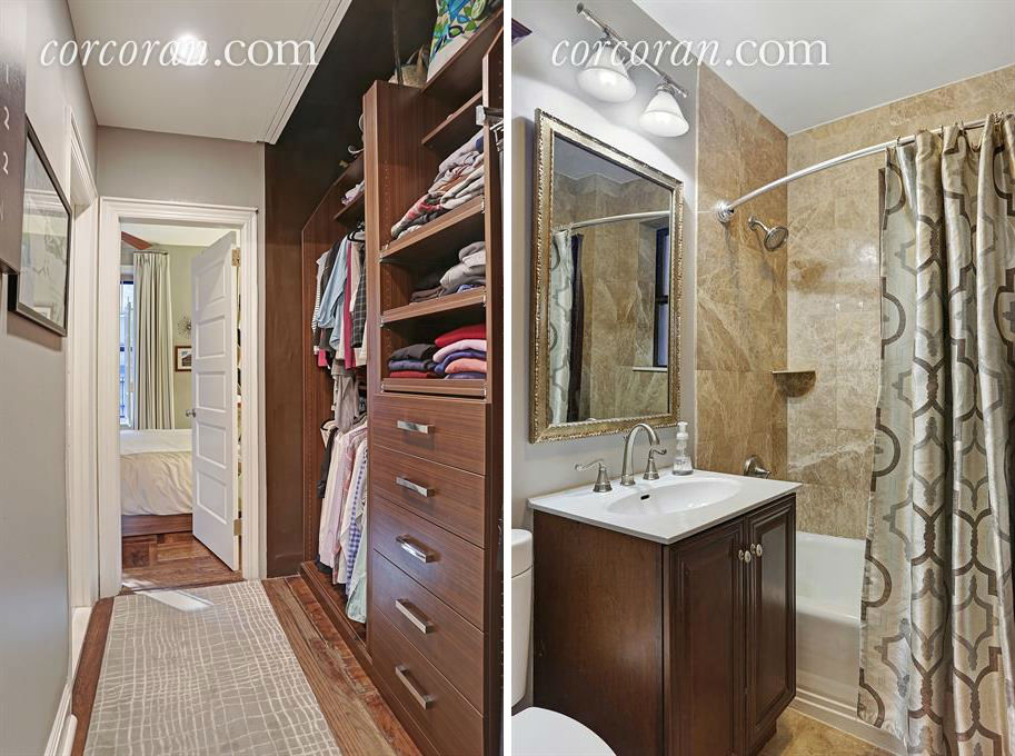 107 West 82nd Street, bathroom, closet, co-op