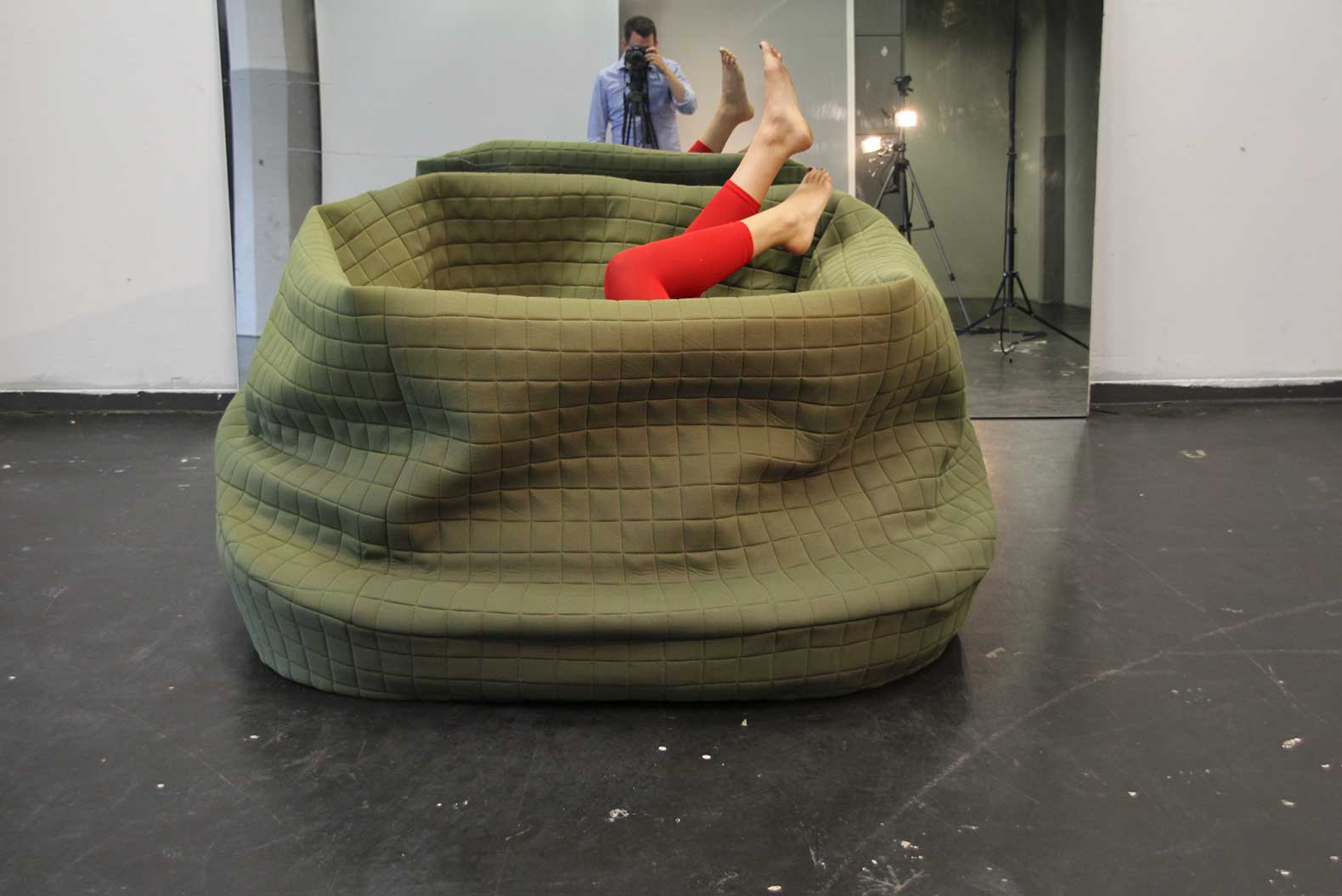 Sofas Frankfurt moody nest is a cuddly wrap up sofa for hibernation 6sqft