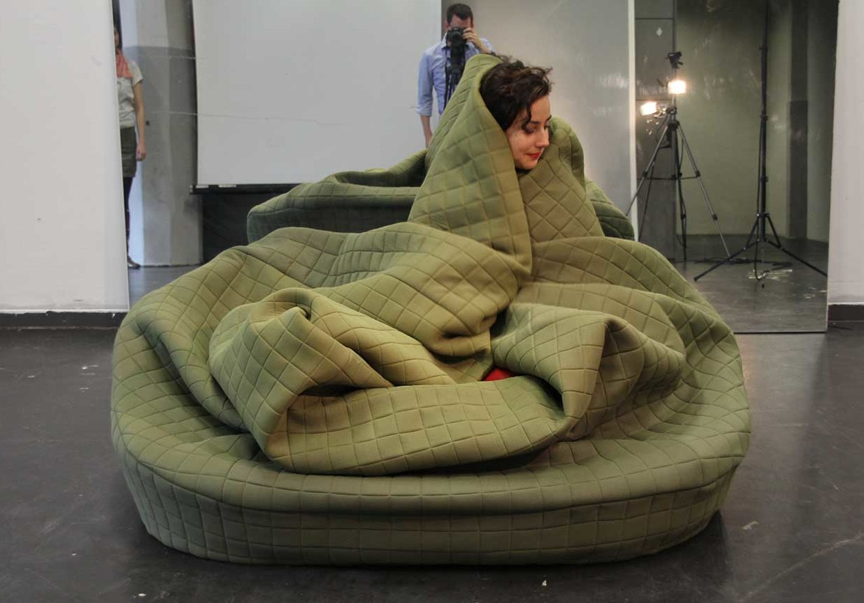 Moody Nest Is a Cuddly WrapUp Sofa Perfect for Hibernation 6sqft