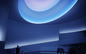 james turrell installation at the guggenheim