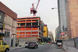 Midtown West Rentals, West Side aparments, NYC construction