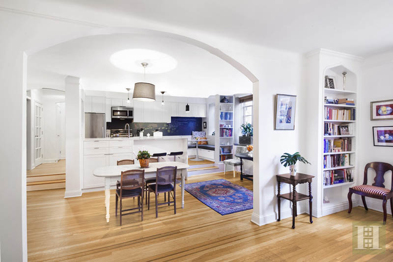 519 East 86th Street, kitchen, dining room, upper east side, yorkville, co-op