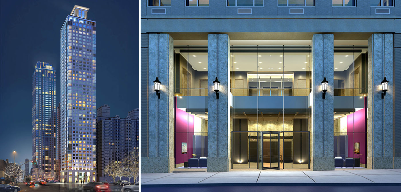 affordable housing lottery launched for lincoln center tower units start at 566 month 6sqft. Black Bedroom Furniture Sets. Home Design Ideas