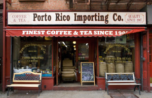 PORTO RICO IMPORTING CO, NYC Signage