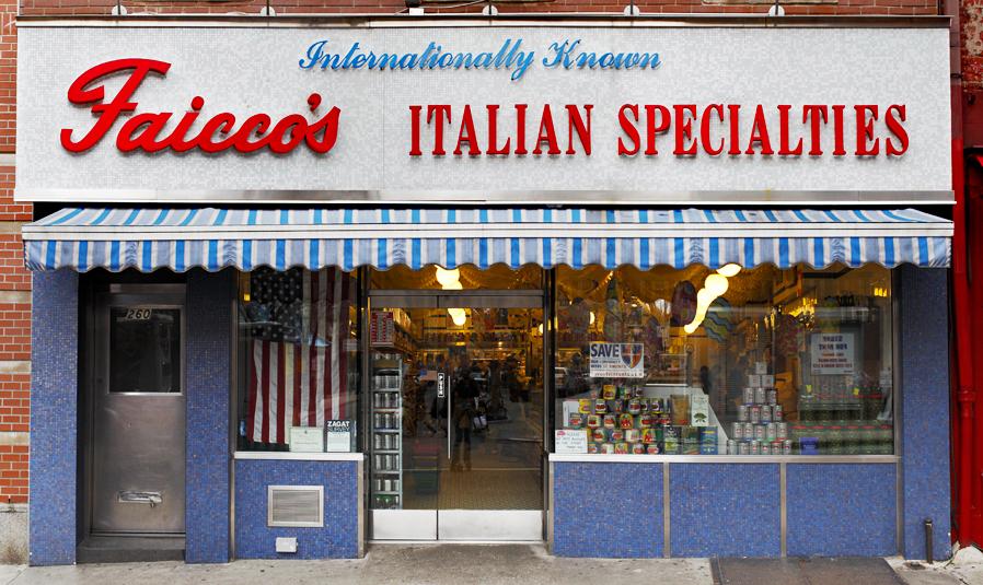 FAICCO'S ITALIAN SPECIALTIES, NYC Signage