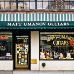 MATT UMANOV GUITARS, NYC signage
