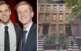 157 West 12th Street, NYC celebrity real estate, underground tunnels, Chris Hughes and Sean Eldridge