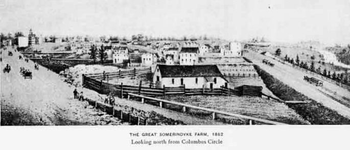 Somarindyck Farm, Harsenville, Upper West Side history