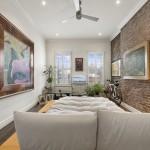 283 West 11th Street, master bedroom, rental, west village