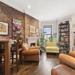 283 West 11th Street, rental, living room, west village