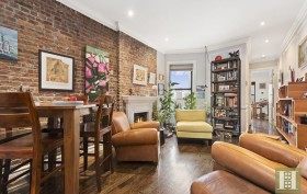 283 West 11th Street, rental, living room, west village