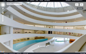Google Street View, Solomon R. Guggenheim Foundation, Google Cultural Institute, The Guggenheim,