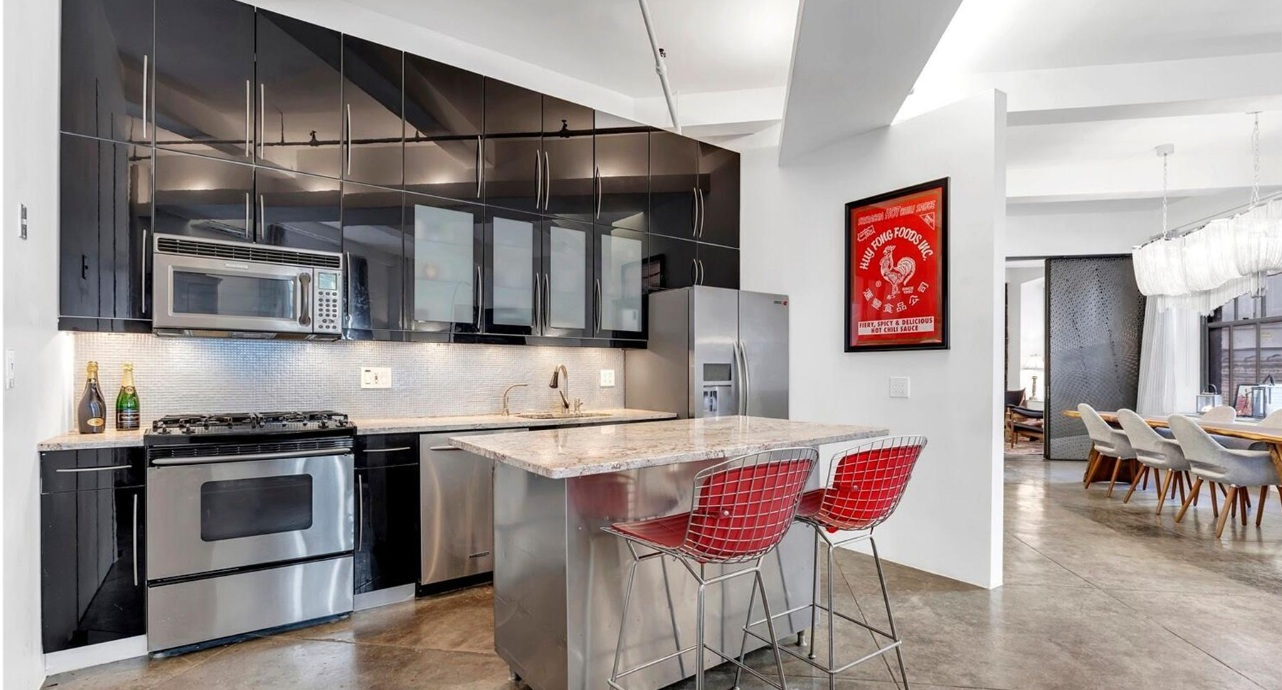 249 West 29th Street, open kitchen, loft SYSTEMarchitects, chelsea
