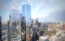 manhattan west, hudson yards, som, renderings, brookfield properties, new developments, skyscrapers, tall towers, megaproject, midtown west