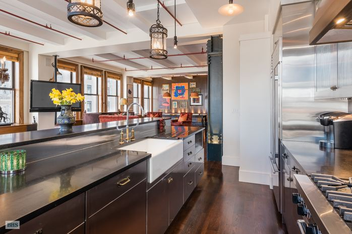 260 Park Avenue, park avenue south, kitchen, loft, condo