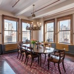 260 park avenue south, dining area, condo loft, flatiron