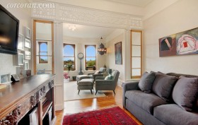 523 8th Street, rental, living room, park slope,