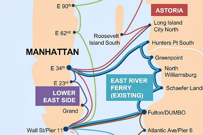 BILL DE BLASIO, FERRY SYSTEM