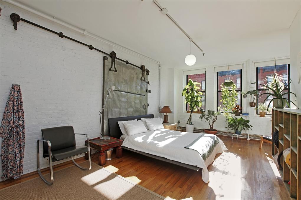 93 Lexington Avenue, bedroom, loft, clinton hill