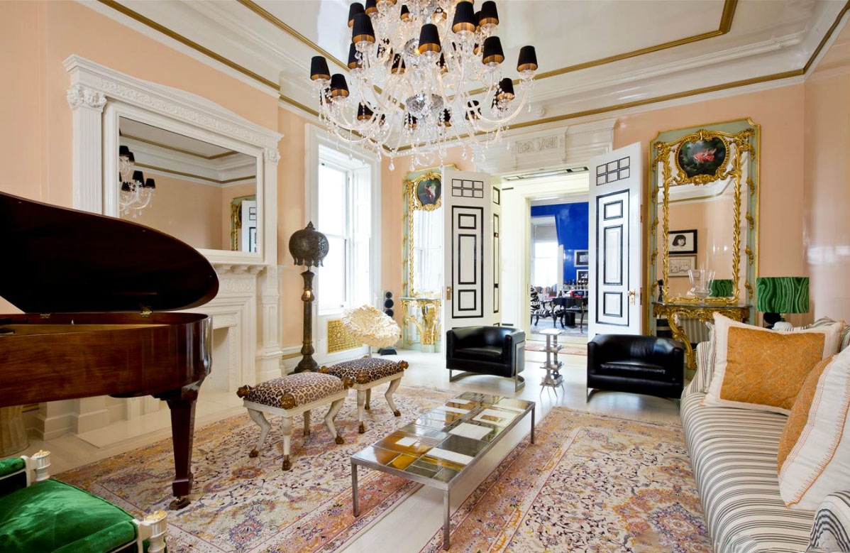 Judy Garland S Former Dakota Apartment Now A Designer Pad