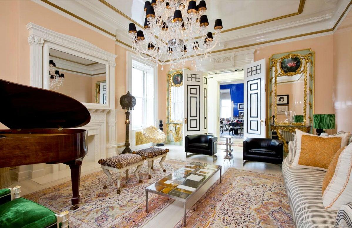 Judy Garlands Former Dakota Apartment Now A Designer Pad