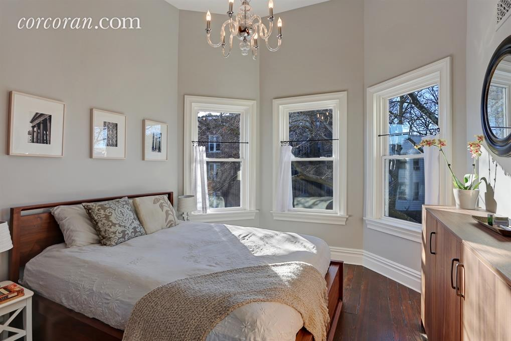 277 east 9th Street, bedroom, brooklyn townhouse, kensington