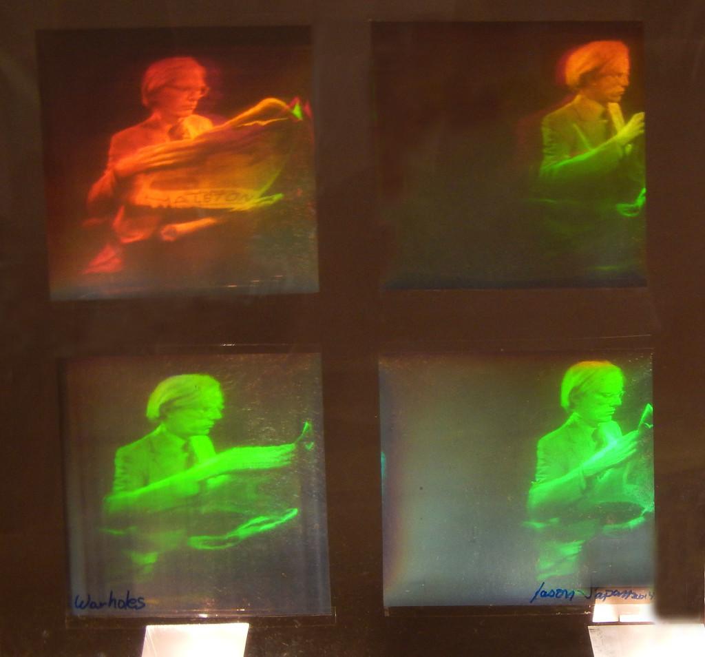 Holographic Studios, Holograms, Dr. Laser, Jason Arthur Sapan, Andy Warhol hologram