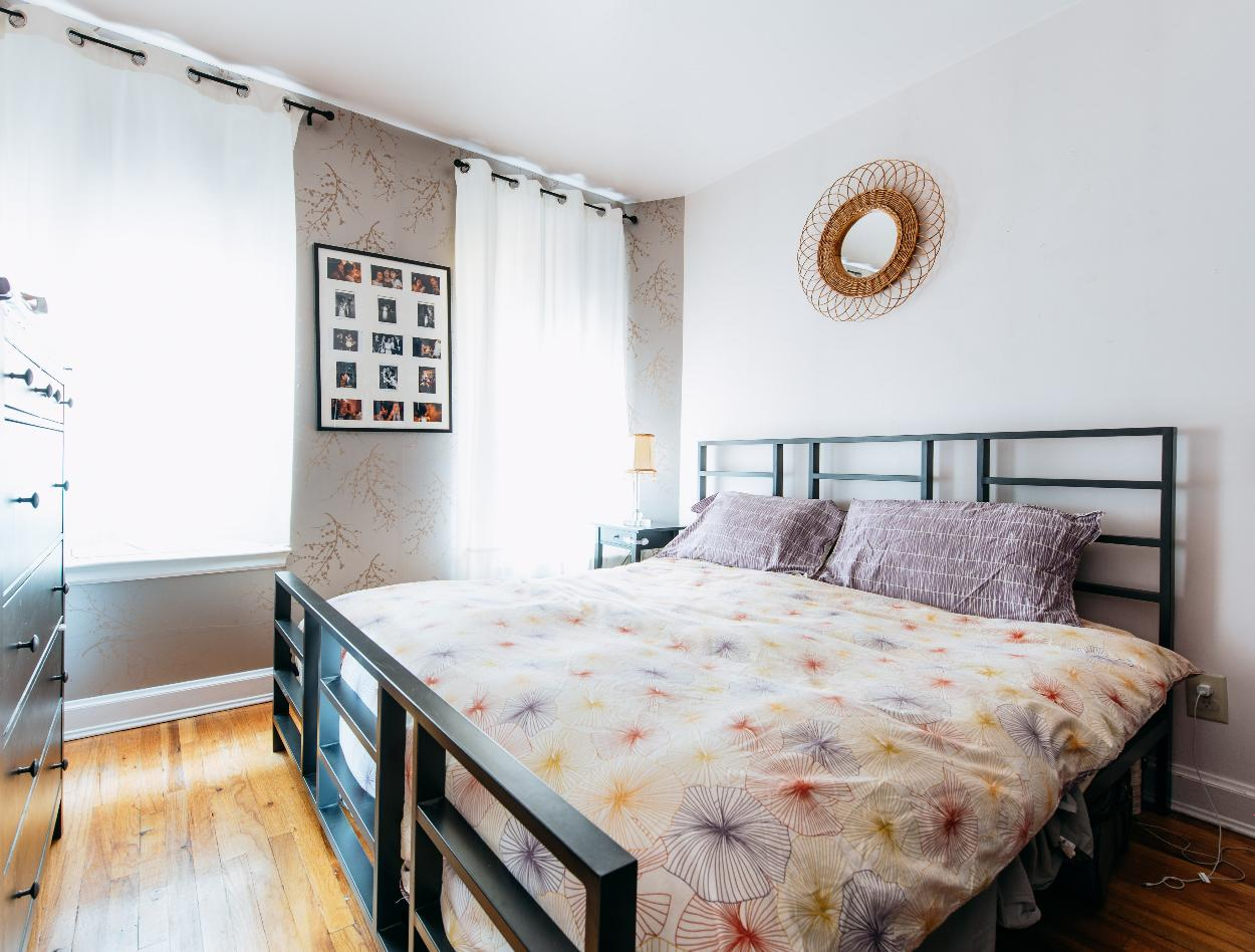 268 east 4th Street, bedroom, HDFC co-op, east village, master bedroom