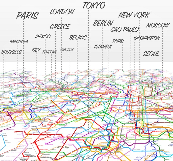 The World Metro Map Mashes Up 214 Subway Systems 6sqft