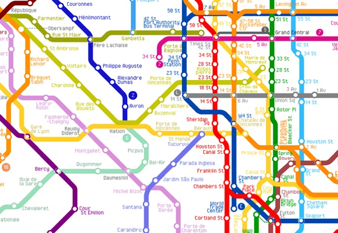 The World Metro Map, ArtCodeData