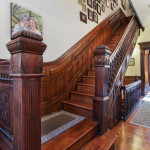 park slope, brownstone, staircase, 226 garfield place,