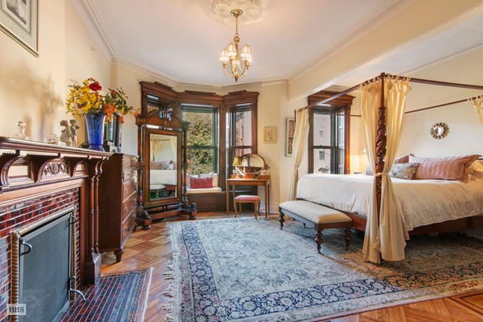226 Garfield Place, master bedroom, park slope, brownstone