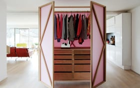 Nina Tolstrup, Studiomama, Metamorphic wardrobe, furniture, small spaces, interiors, design, products, scandinavian design, Nina Tolstrup