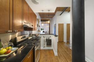138 Broadway, kitchen, loft studio, williamsburg