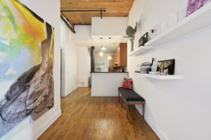 138 Broadway, foyer, studio loft, rental, williamsburg